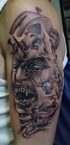 Tattoos - HammerHead - 23592