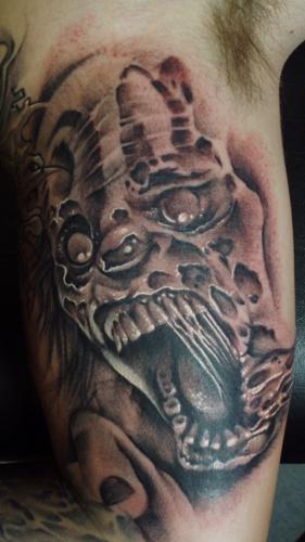 Tattoos - Zombie Clown - 24124
