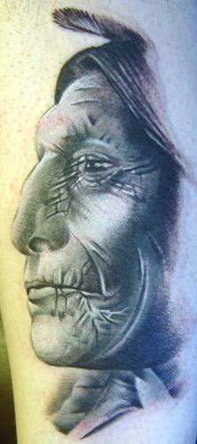 Tattoos - Chief Wolf Robe - 19977
