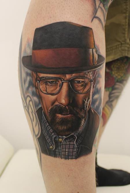 Tattoos - Breaking Bad Portrait - 93316