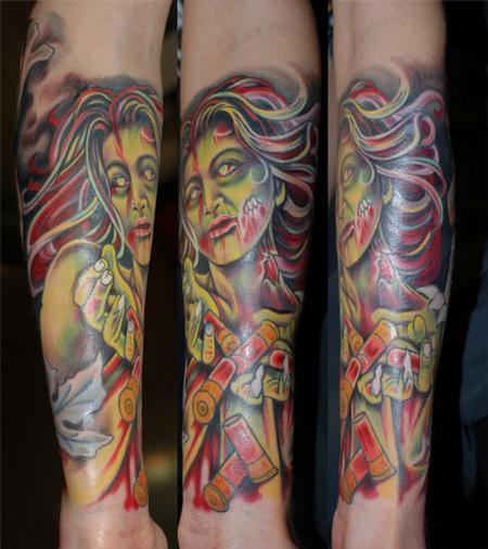 Tattoos - Zombie tatto - 67342