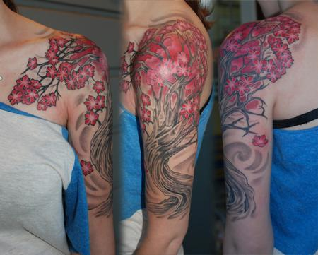 Tattoos - Cherry Tree - 67526
