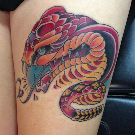 Tattoos - snake - 106384