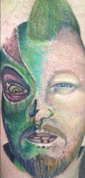 Tattoos - zombie/portrait - 70646