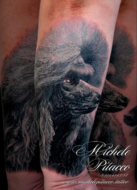 Tattoos - Barboncino Dog - 127627