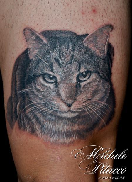 Tattoos - Cat - 115321