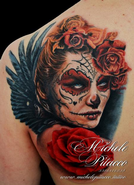 Tattoos - Sugar skull - 128057