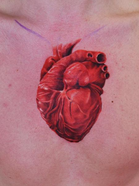 Tattoos - Heart - 91527