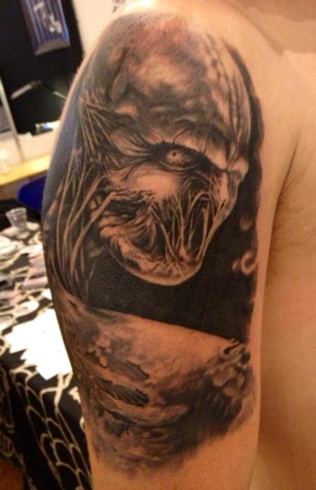 Tattoos - michele@offthemaptattoo.com, Demon - 89260
