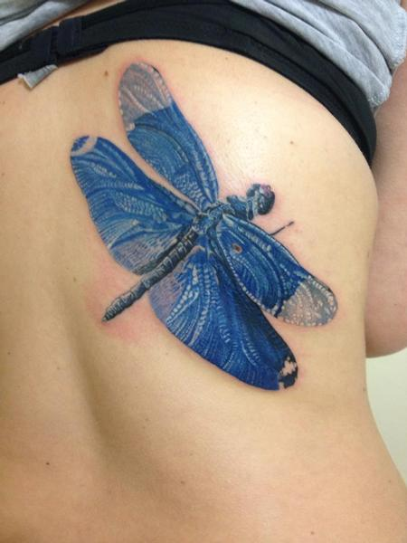 Michele Pitacco - michele@offthemaptattoo.com, dragonfly, libellula