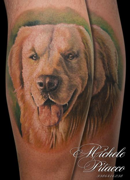 Tattoos - Golden retriver - 123616