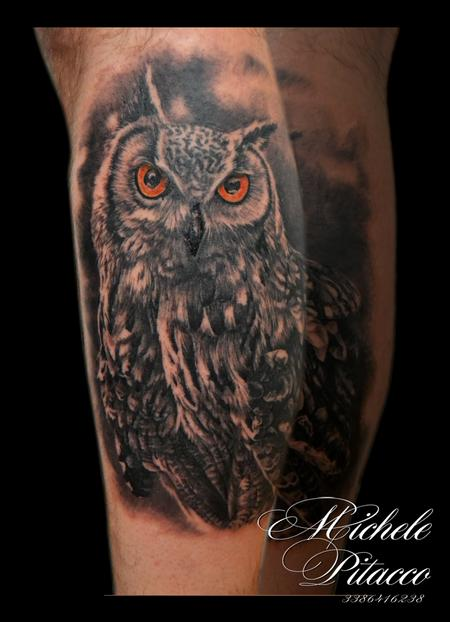 Tattoos - owl - 112183