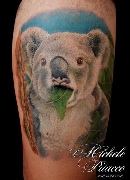 Tattoos - koala - 119988