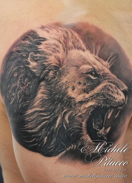 Tattoos - Lion - 128051