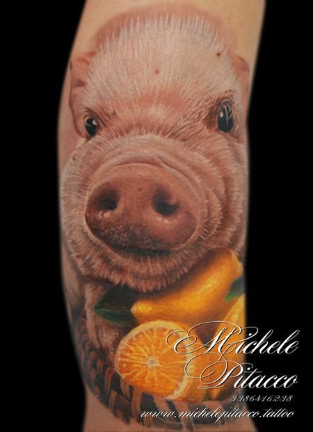 Michele Pitacco - pig