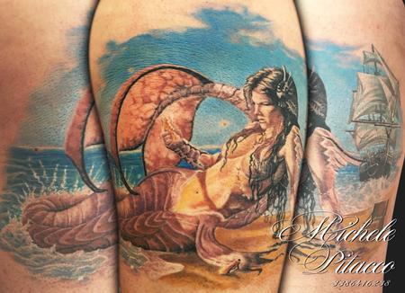 Tattoos - Mermaid - 119105