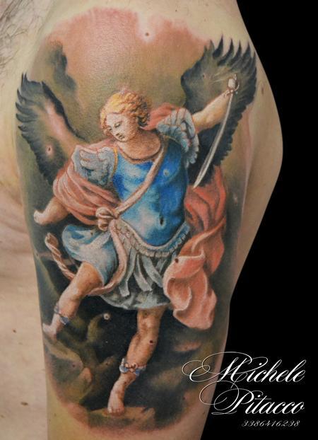 Tattoos - arcangel Michael - 123125