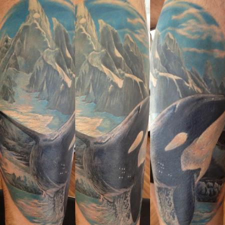Michele Pitacco - michele@offthemaptattoo.com, shark whale