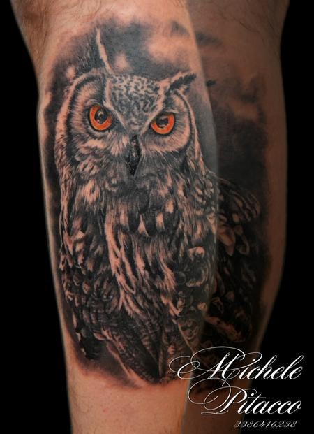 Tattoos - Owl - 113953