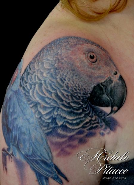 Tattoos - Parrot - 106125