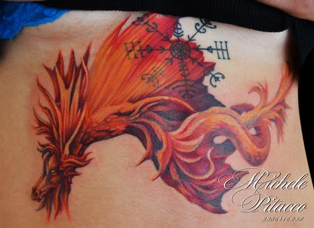 Tattoos - Red Dragon - 108199