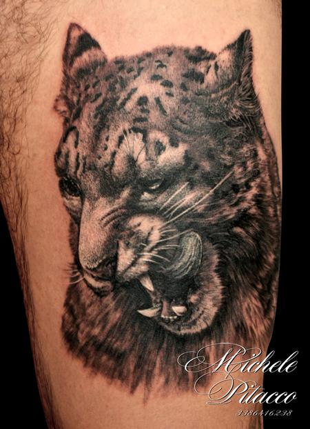 Tattoos - Snow Leopard - 108708