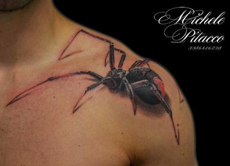 Tattoos - Spider - 113954