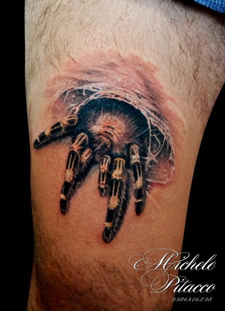 Tattoos - spider - 123126