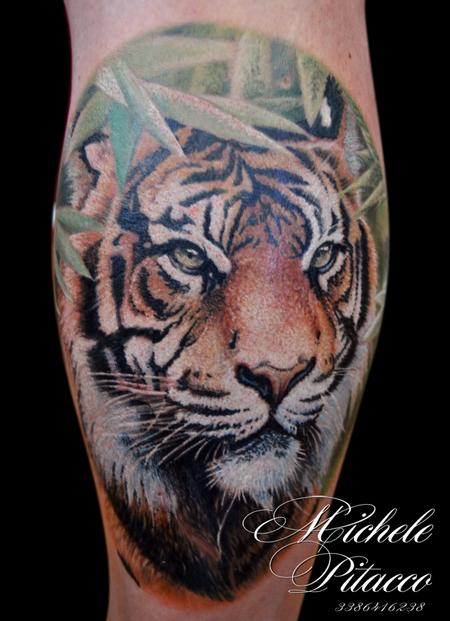 Tattoos - tiger - 119992