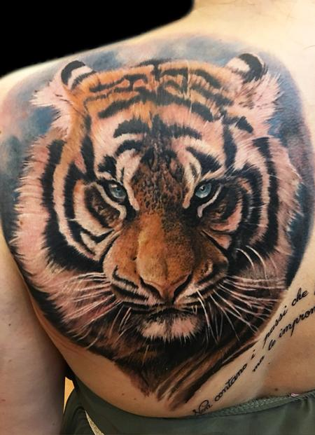 Tattoos - Tiger - 123224