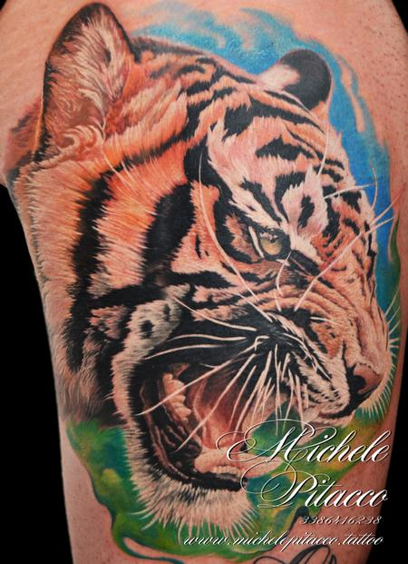 Tattoos - Tiger - 128882
