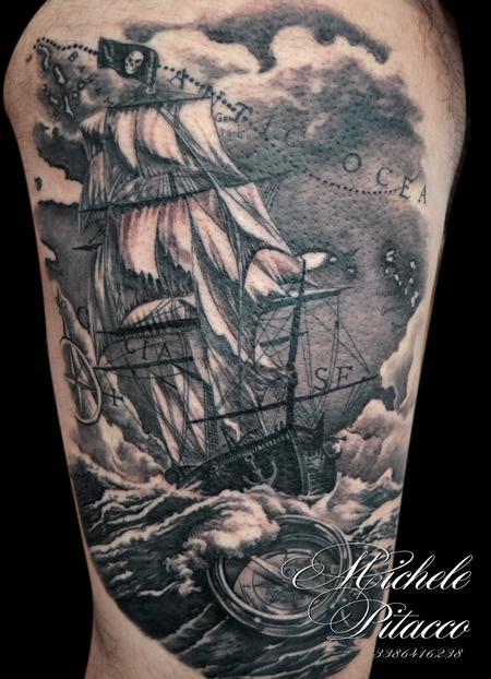 Tattoos - Battle ship - 123122