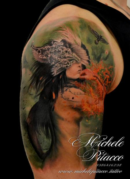 Tattoos - Fire Woman - 126798