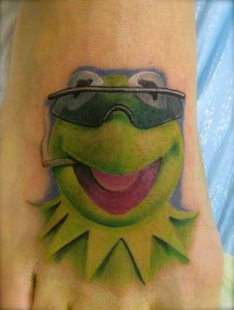 Tattoos - Kermit Tattoo - 38904