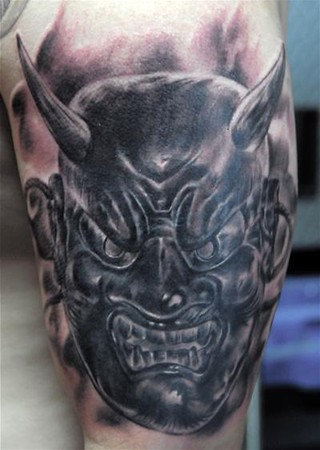 Tattoos - Mask Coverup Tattoo - 39801