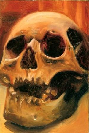 Carlos Rojas - 2x3 Skull Art