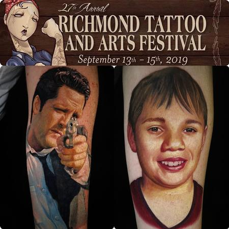 Carlos Rojas - Portrait Tattoos