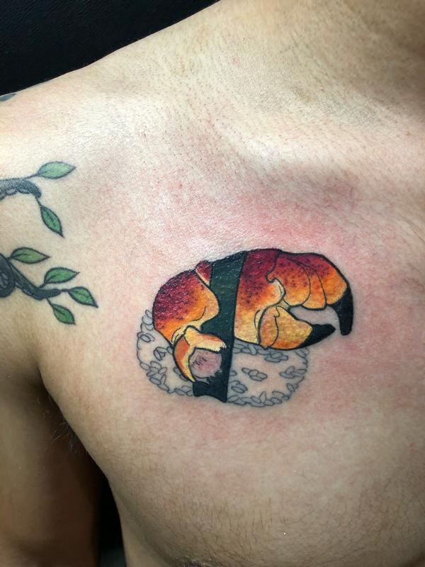 Claw tattoo by ashes bardole tattoonow ashes bardole claw tattoo altavistaventures Choice Image