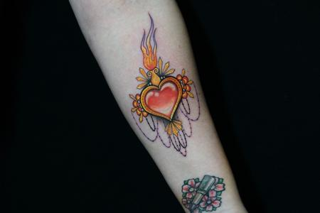 Tattoos - Sadie Gabriella Sacred Heart - 142488