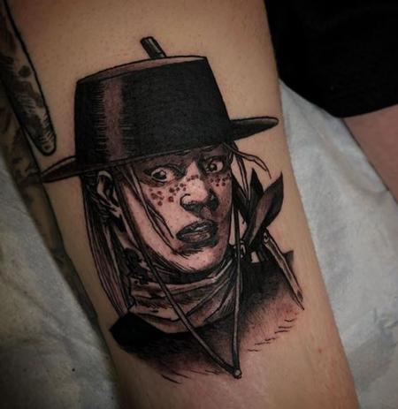 Tattoos - Al Perez Andrea Walking Dead Comics - 140200