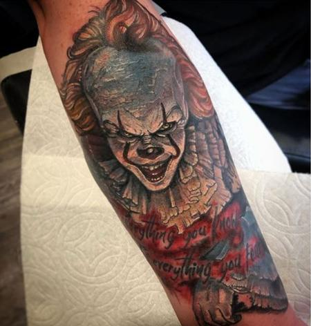 Tattoos - Al perez Pennywise - IT - 140173