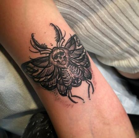 Tattoos - Al Perez Death Moth - 139396
