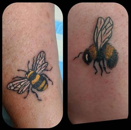 Tattoos - Bonnie Seeley Bees - 140082