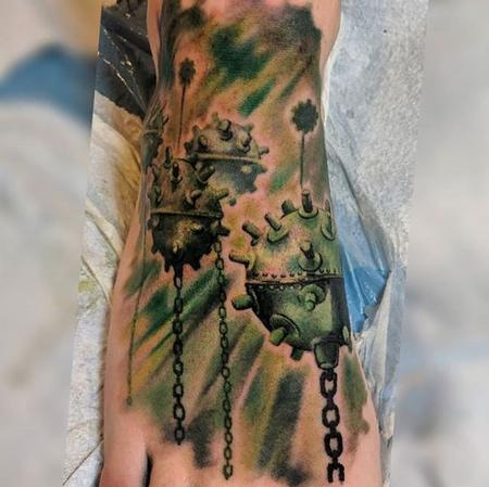Tattoos - Bonnie Seeley Sea Mines - 139534