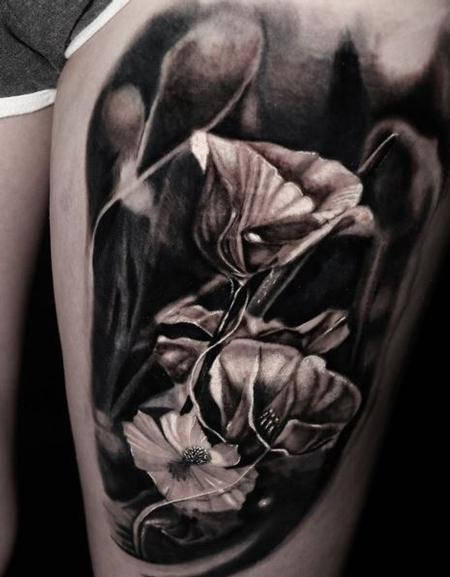 Tattoos - Chris Good Floral - 139924
