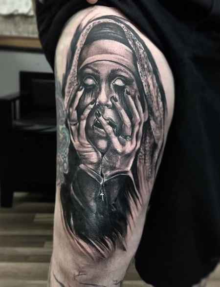 Tattoos - Chris Good Nun - 139927