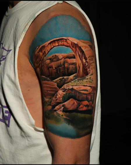 Tattoos - Chris Good Utah Arches - 141401