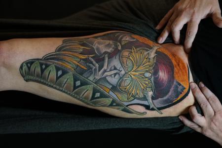 Tattoos - Miss Amanda Fantasy Lady Face - 142558