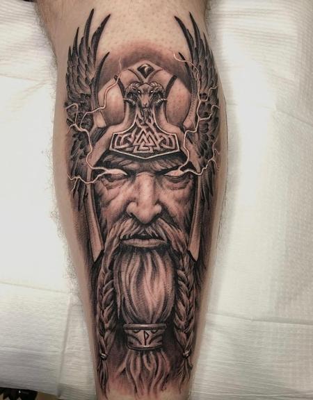 Tattoos - Oak Adams Thor - 142705