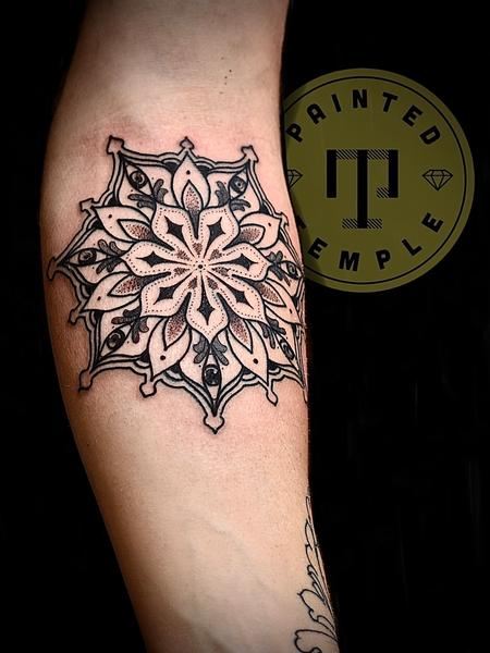 Tattoos - Billy Williams Mandala - 142135